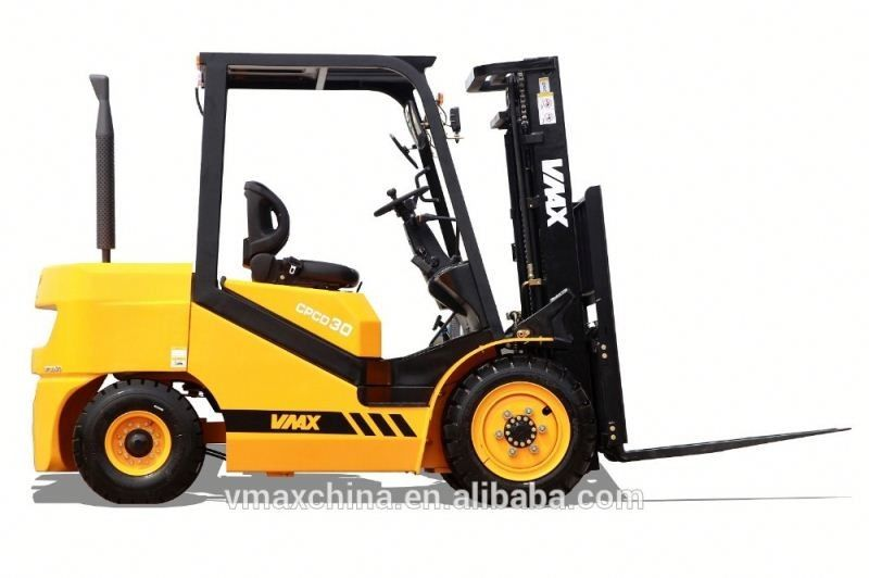 3t diesel forklift truck with china engine C490BPG