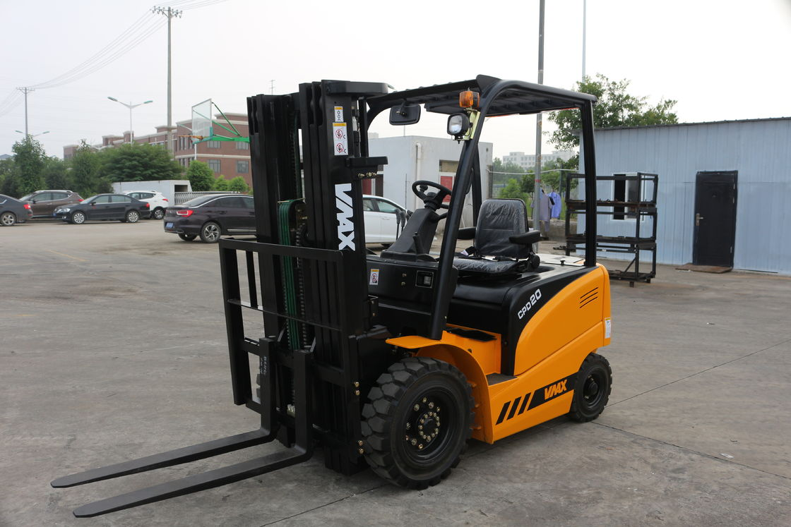 AC / DC Drive Electric Warehouse Forklift Industrial Forklift Truck 2.0 Ton