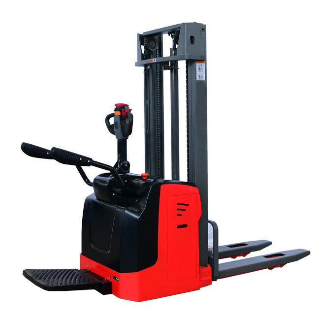 1.5T 4500MM powered electric pallet stacker Automatic Board Stacker