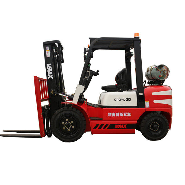 CNG / Lp Gas Forklift With Nissan K21engine , Compact Electric Forklift